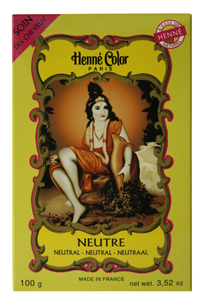 Henné Color Neutre hair care mask with the benefits of henna, without colouring your hair