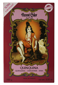 Henné Color Quinquina hair repair mask for damaged, listless and frail hair