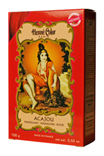 Henné Color henna powder hair dye Acajou - Mahogany Red