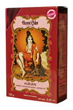 Henné Color henna powder hairdye Auburn - Dark Mahogany