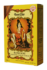 Henné Color henna powder hair dye Blond Doré - Golden Blonde