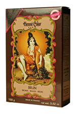 Henné Color henna powder hair dye Brun - Brown