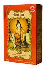 Henné Color henna powder hair dye Cuivre - Copper Red