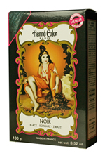 Henné Color henna powder hair dye Noir - Black